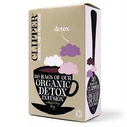 Clipper organic detox tea