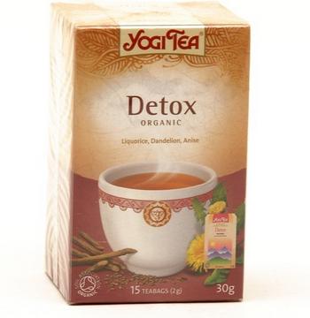 Yogi tea с сертификатом Soil Assocoation