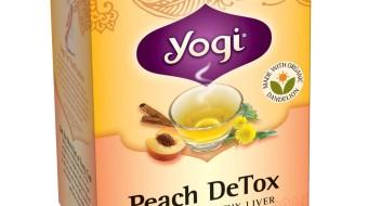 Чай Yogi Detox персик