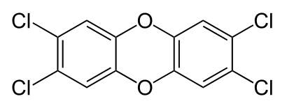 dioxine structure formula