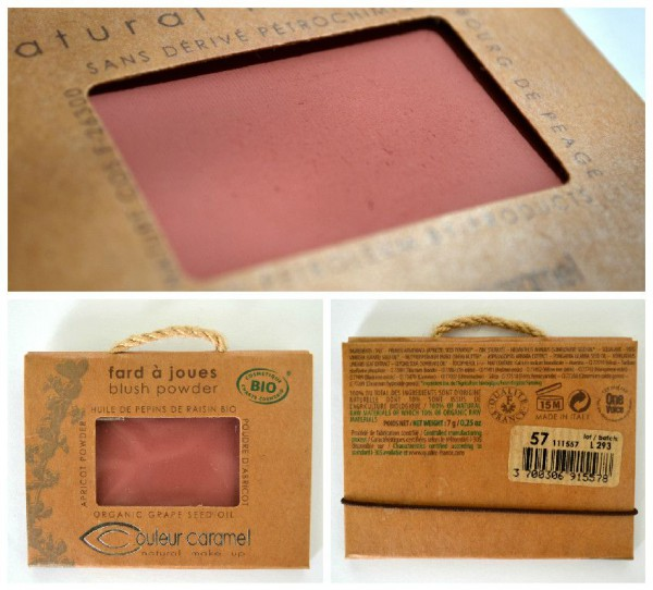 couleur caramel blush