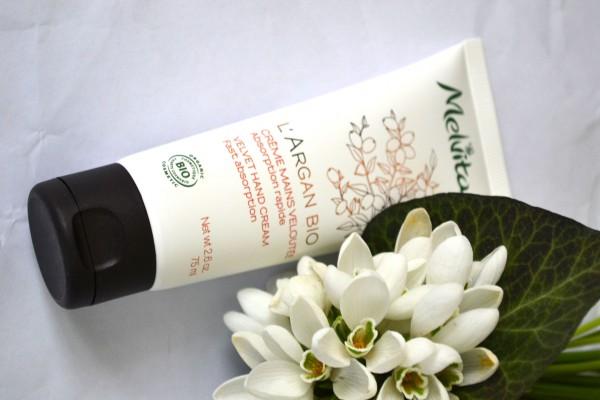 melvita argan bio hand cream