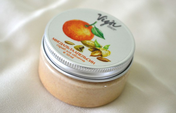 vigor face scrub