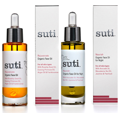 Suti face oils
