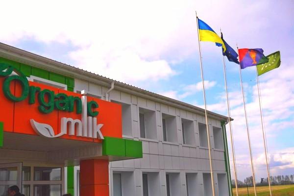 organic milk factory