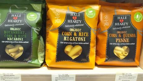 Органическая безглютеновая паста Hale&Hearty