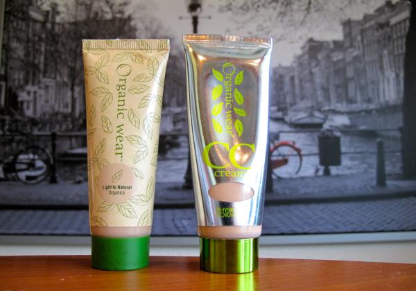 Organic wear cream CC and moisturising