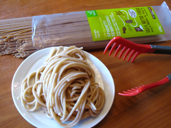 Pasta cooked organic 5