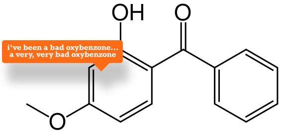 oxybenzone-symbol
