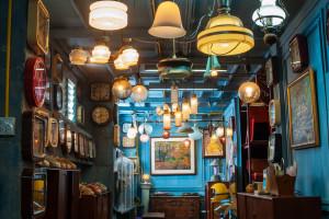 Retro light bulb store lampochki svetilniki
