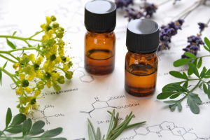 different essential oils