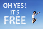 Oh yes it's free bioshopping news girl jumps in the sky