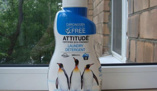 Жидкое средство для стирки Attitude