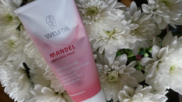 weleda almond cleansing milk
