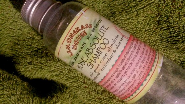 Lemongrass House rose abloluy shampoo