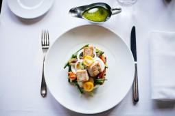 salad, meak, egg, chiken