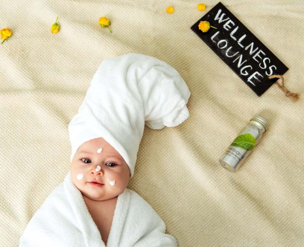 Baby child Spa