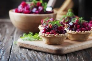 Traditional russian vegan salad