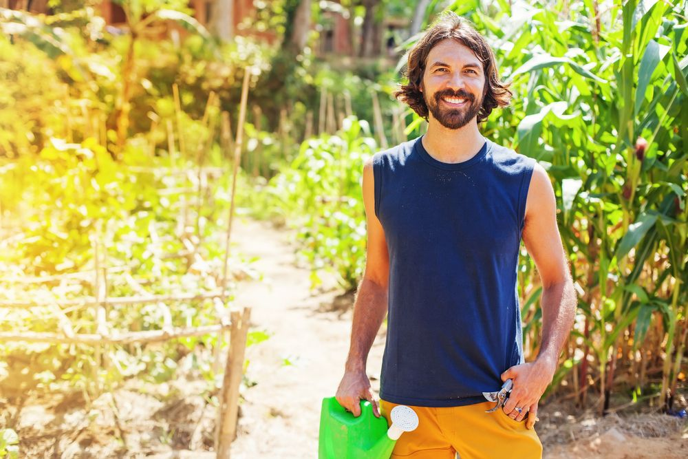 eco bio organic man