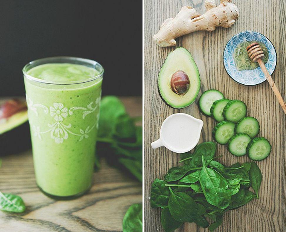 smoothie avocado