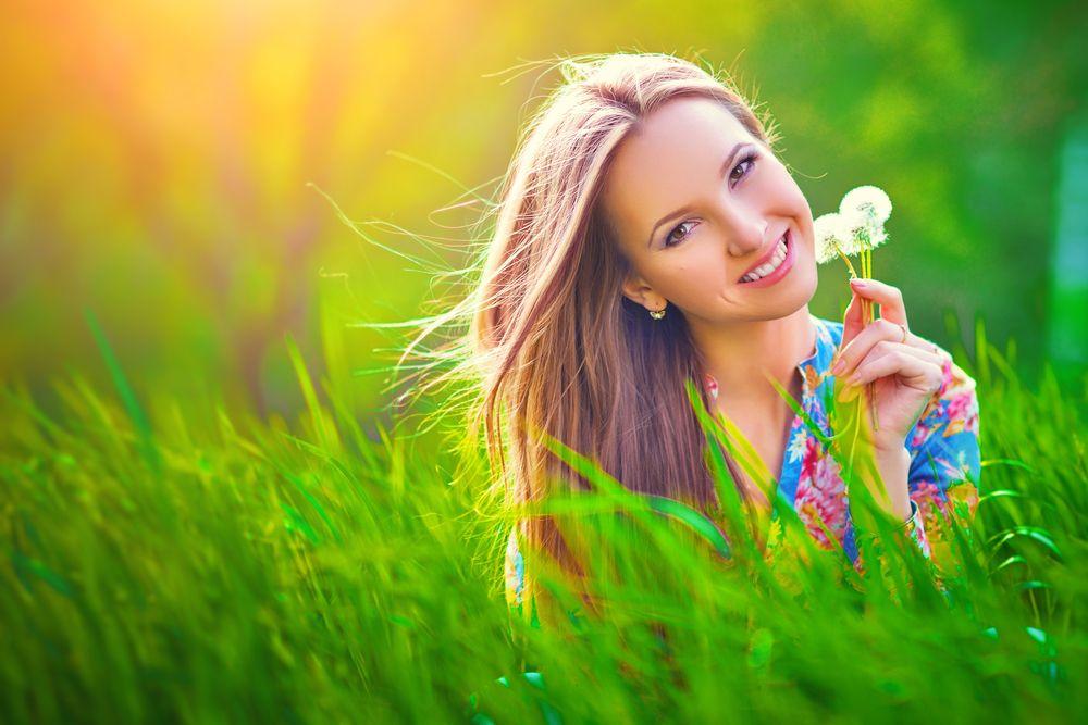 summer spring girl