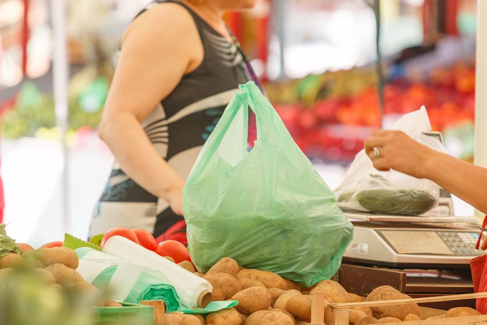 market products plastic bag