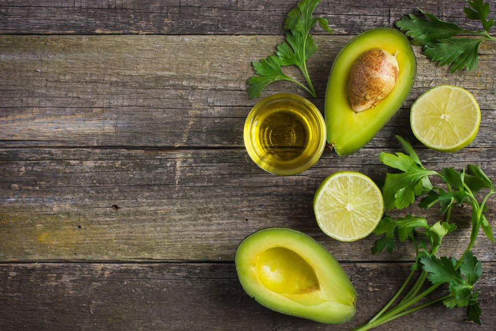 avocado herbs oil