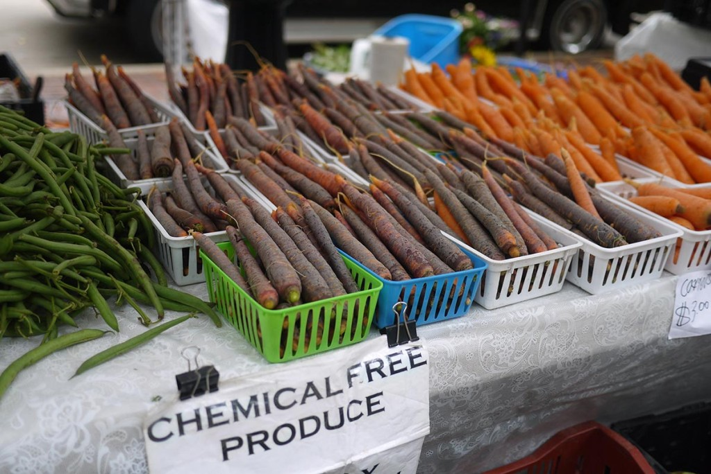 farmer market chemical free