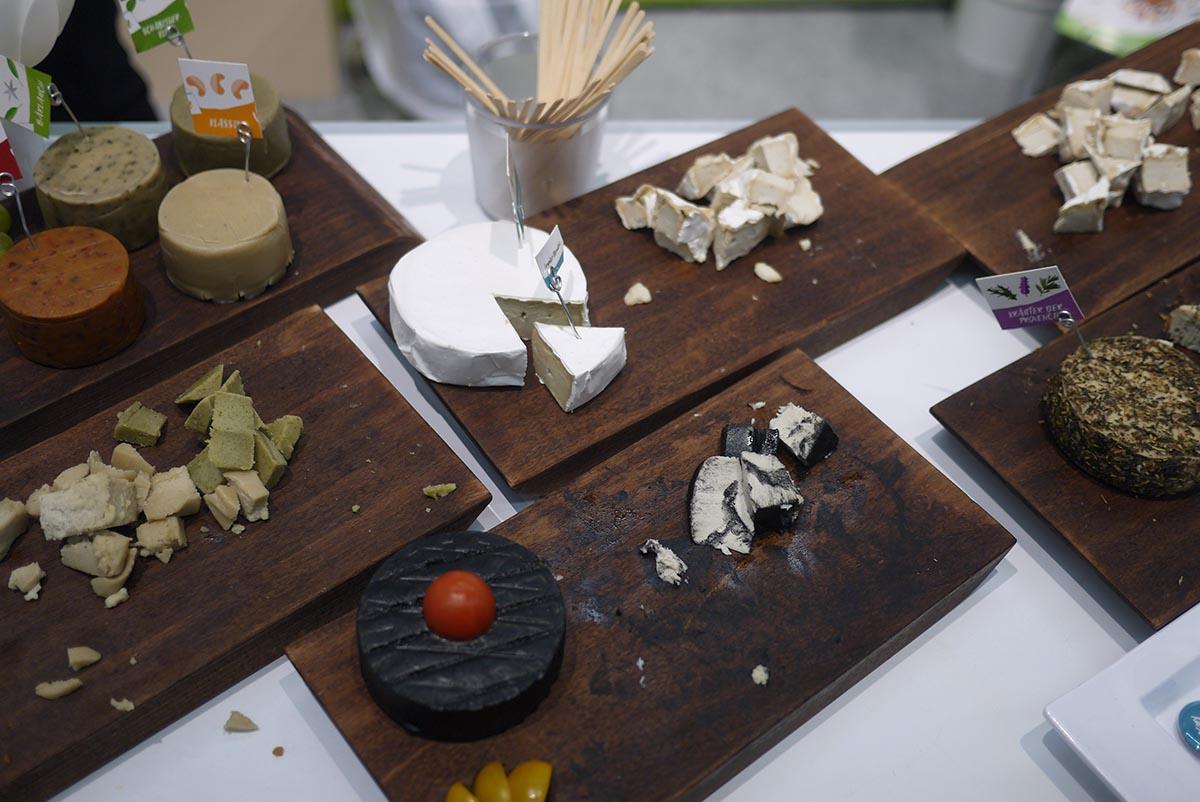 Веганский сыр из ферментированного кешью
