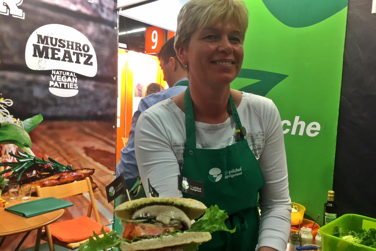 biofach griby burger
