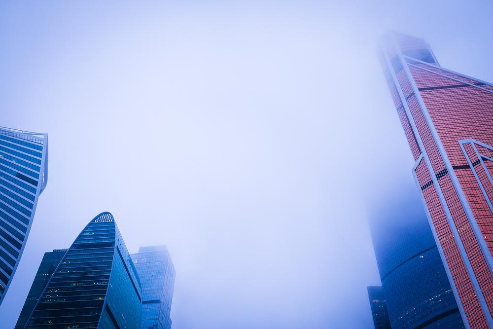 smog moscow city