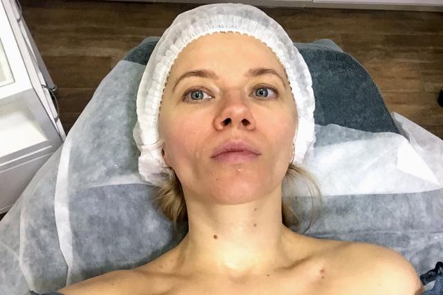 Tatyana Lebedeva at Phyt's salon