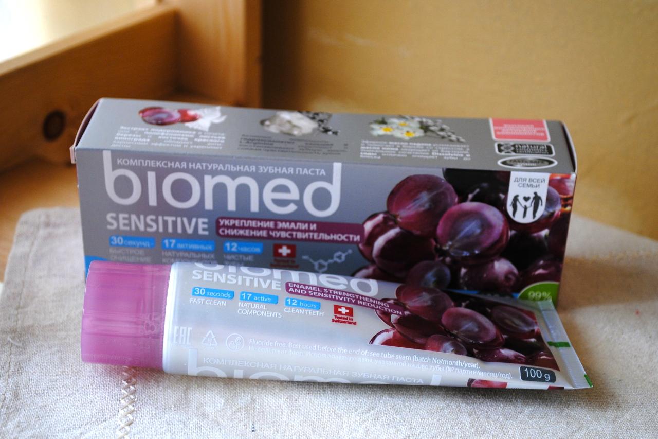 Biomed zubnaya pasta