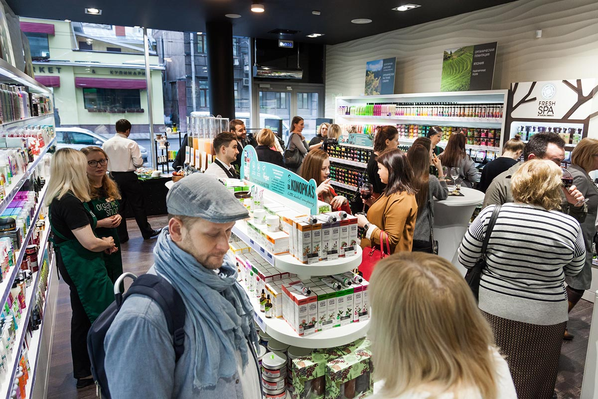 Мультибрендовый магазин Organic Shop на Б. Полянке