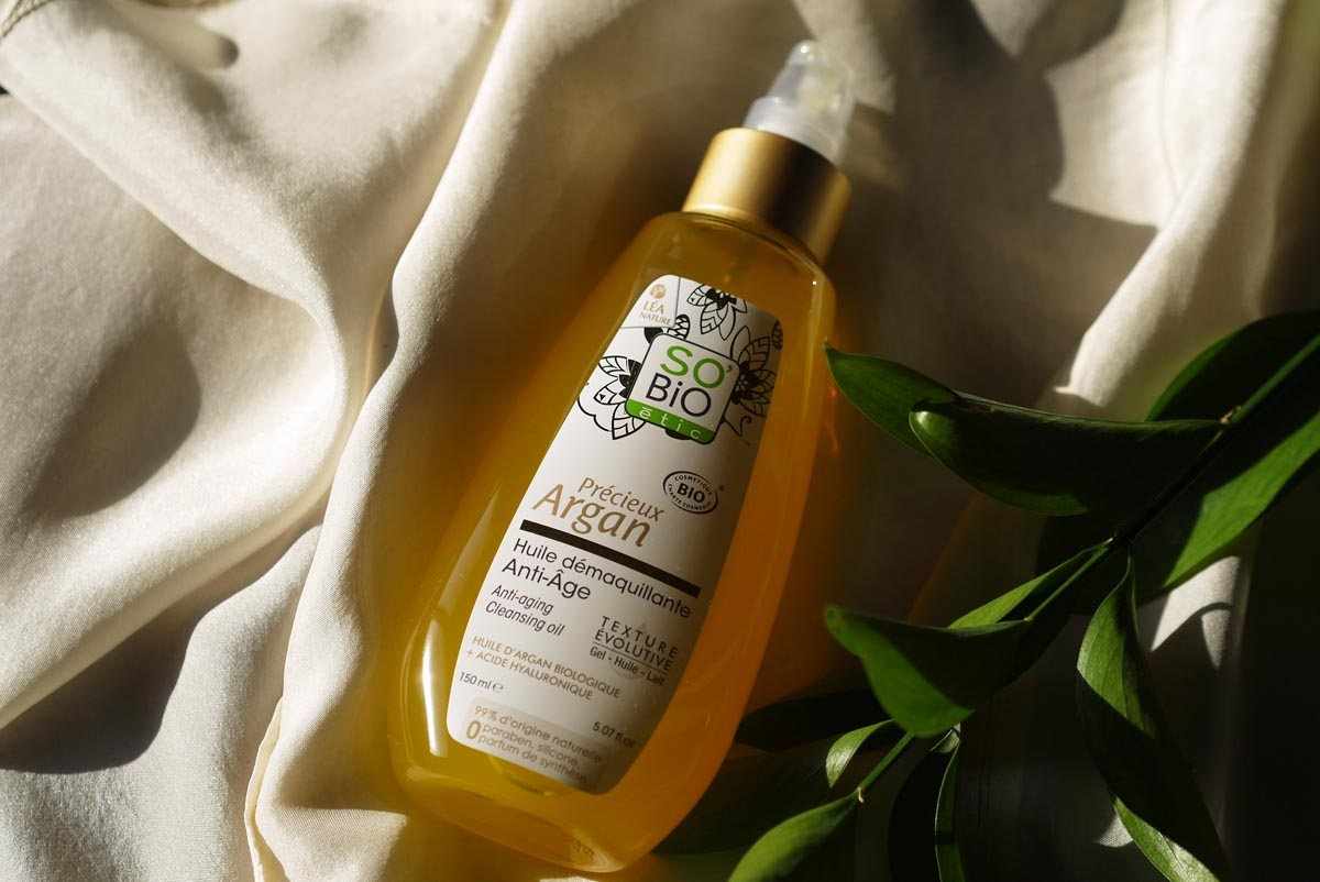 so bio etic argana cleansing oil