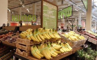 organic banana globus